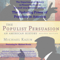 Brewster Lecture: The Enduring Power of Populism in America