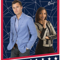 A talk by Turning Point USA founder Charlie Kirk with Candace Owens