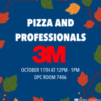 Center for Sales Leadership Pizza and Professionals with 3M