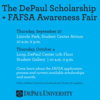 2018 DePaul Scholarship and FAFSA Awareness Fair