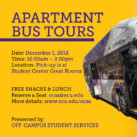 Fall Apartment Bus Tour