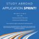 Study Abroad Application Sprint