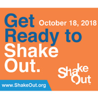 The Great ShakeOut Earthquake Drill!