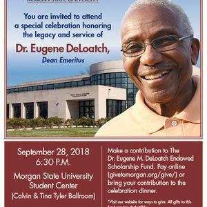 Dr. Eugene DeLoatch Retirement Celebration