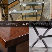 October Meetup at Iron Oak + Studios
