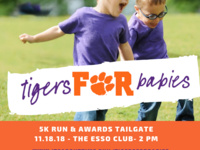 2018 Tigers for Babies 5K Event