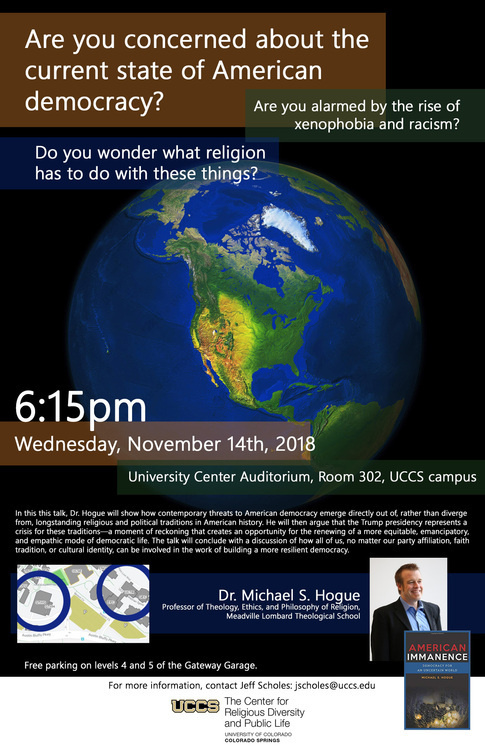 An Evening with Michael Hogue