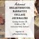 Autumnal Breakthrough: Narrative Collage Journaling