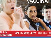 Free Walk-In Flu Clinic