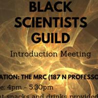 Black Scientists Guild General Interest Meeting