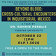 "Talk: ""Beyond Blood: Cross-Cultural Encounters in Inquisitorial Mexico,"" Dr. Ronnie Perelis (Yeshiva University)"