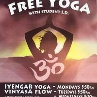 Free Yoga for Students