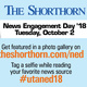 News Engagement Day with 'The Shorthorn '