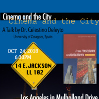 Cinema and the City: A Talk by Dr. Celestino Deleyto