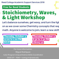 Stoichometry, Waves, & Light Workshop