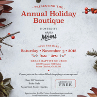 Annual Holiday Boutique