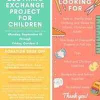 Clothing Exchange Project Donation Drive