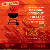 3rd Annual Cookout for CLEP Sponsored by UPS