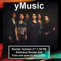 Guest Artist Recital – yMusic