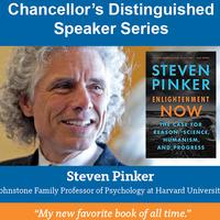 Chancellor's Distinguished Speaker Series: Steven Pinker