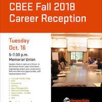 CBEE Fall Career Reception