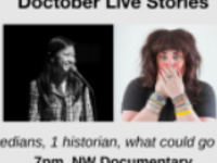 Doctober Live Stories: Live, Non-Fiction Storytelling