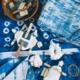 Shibori Indigo Dyeing at All Hands Workshops