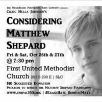 "SLCC Choirs ""Considering Matthew Shepard"""