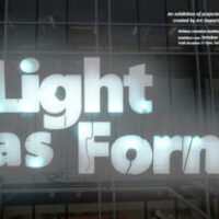 Light as Form