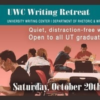 University Writing Center: Graduate Writing Retreat