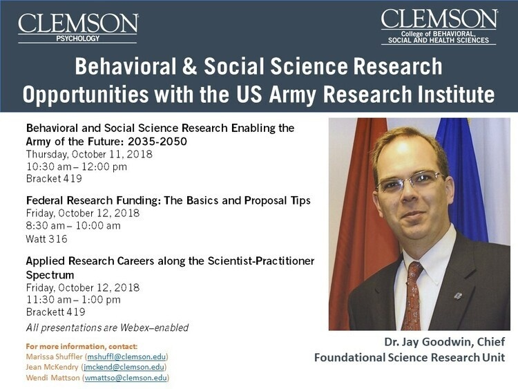 Behavioral & Social Science Research Opportunities with the US Army Research Institute:  FEDERAL RESEARCH FUNDING;  THE BASICS AND PROPOSAL TIPS