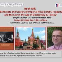 Bankrupts and Usurers of Imperial Russia