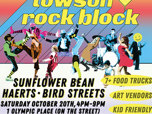 2nd Annual WTMD Towson Rock Block