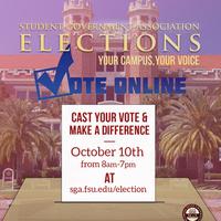 SGA 2018 Fall Election
