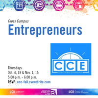 Cross Campus Entrepreneurs Workshop Series