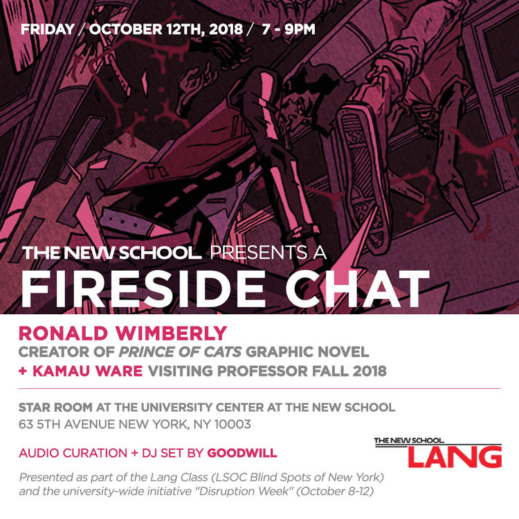 Fireside Chat with Ronald Wimberly