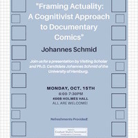 Framing Actuality: A Cognitivist Approach to Documentary Comics