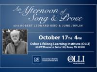 An Afternoon of Song and Prose with Robert Leonard Reid & June Joplin