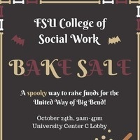 College of Social Work United Way Bake Sale