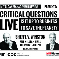 Critical Questions Live: Is it up to business to save the planet?