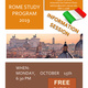 Rome Study Program-Information Session