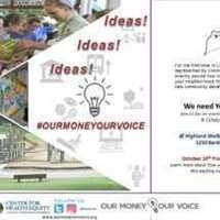 Our Money Our Voice