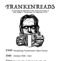 Frankenreads: Visualizing Frankenstein Open House