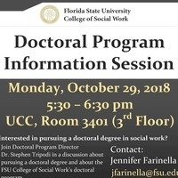 CSW Doctoral Program Information Session