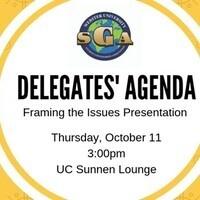 Delegates' Agenda: Framing the Issues