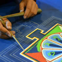 Sacred Arts of Tibet: Sand Painting