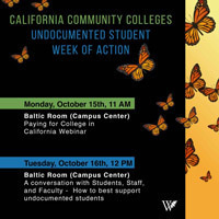 Conversation Cafe:  How to Best Support Undocumented Students