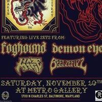 Foghound ALBUM Release party at Metro Gallery 11/10