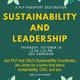 Sustainability and Leadership