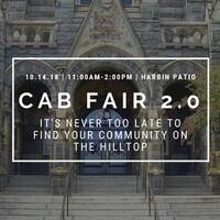 October CAB Activities & Organizations Fair